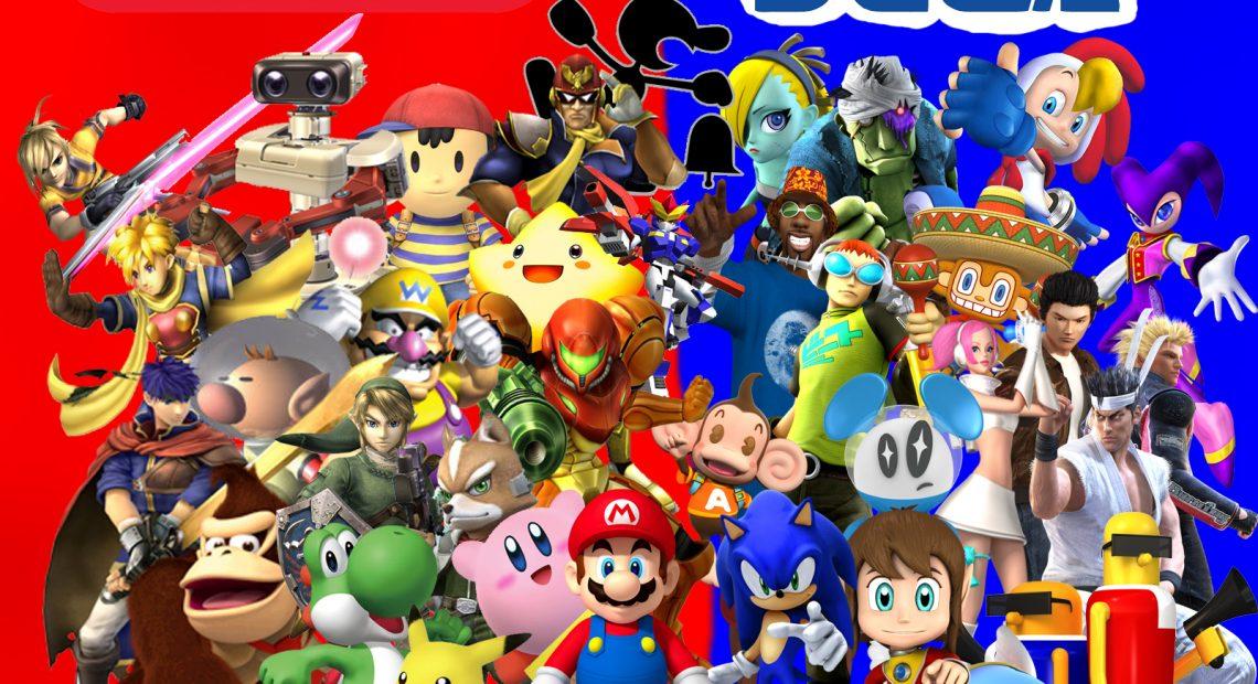 Disputa histórica entre Sega e Nintendo vai parar em